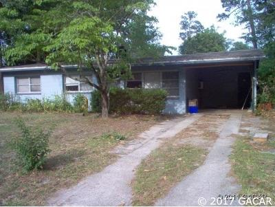 Gainesville Single Family Home For Sale: 1431 NW 55TH Terrace