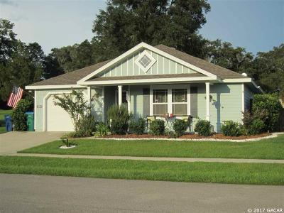 Alachua Single Family Home For Sale: 15545 NW 136TH Terrace