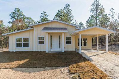 Williston FL Single Family Home For Sale: $165,000