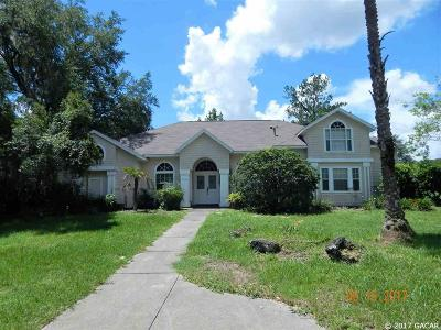 Gainesville Single Family Home For Sale: 11635 NW 9 Lane