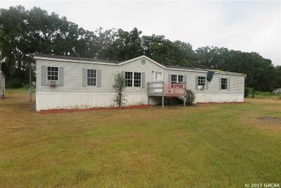Alachua Single Family Home For Sale: 18539 NW 143rd Lane