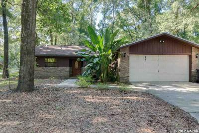 Gainesville Single Family Home For Sale: 7923 SW 17TH Place
