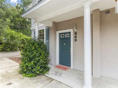 Gainesville Condo/Townhouse For Sale: 869 NW 21st Avenue