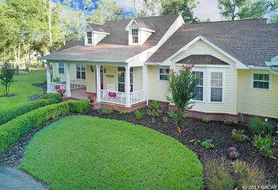 Alachua Single Family Home For Sale: 14604 NW 50th Place