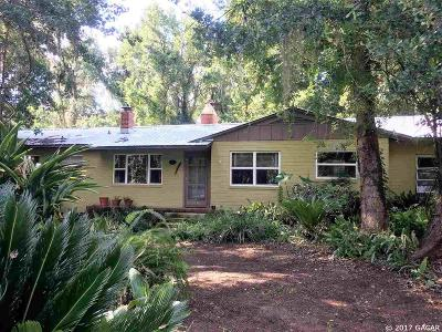 Gainesville FL Single Family Home For Sale: $279,000