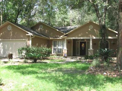 Gainesville Single Family Home For Sale: 11512 NW 13TH