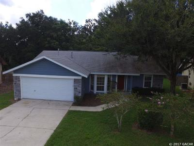 Gainesville Single Family Home For Sale: 6038 NW 41st Lane