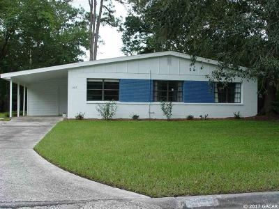Gainesville Single Family Home For Sale: 2619 NE 10th Terrace