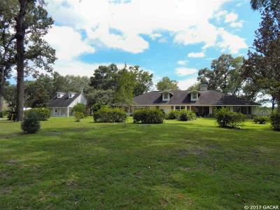Chiefland Single Family Home For Sale: 5350 NW 140th Street