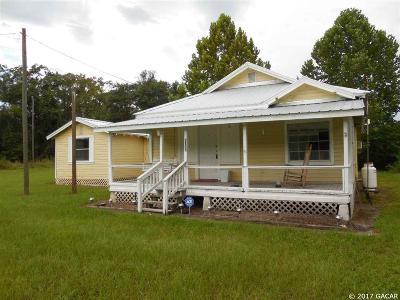 Williston Single Family Home For Sale: 2550 NE 180 Avenue