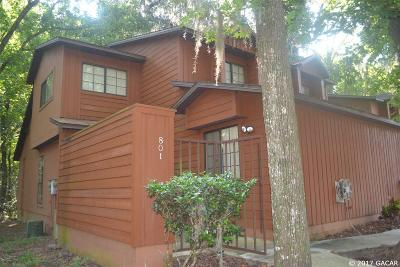 Gainesville Condo/Townhouse For Sale: 801 SW 55th Terrace