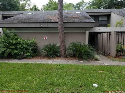 Gainesville Condo/Townhouse For Sale: 7200 SW 8th Avenue #G42