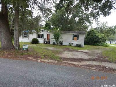 Chiefland Single Family Home For Sale: 306 SW 4 Street