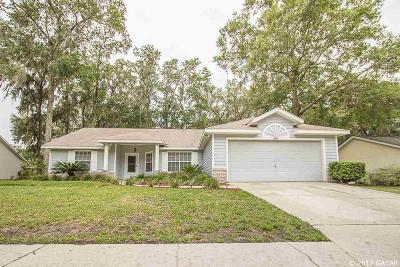 Gainesville Single Family Home For Sale: 3841 NW 65th Avenue
