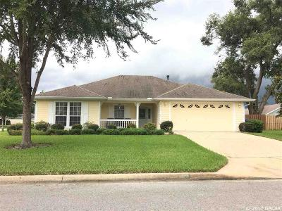 Newberry Single Family Home For Sale: 25511 NW 9th Road