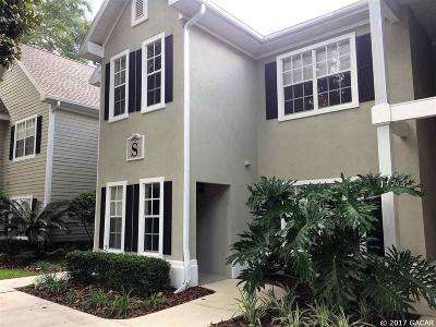 Gainesville Condo/Townhouse For Sale: 10000 SW 52ND Avenue #S-109