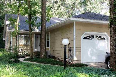 Gainesville Condo/Townhouse For Sale: 848 SW 50 Way