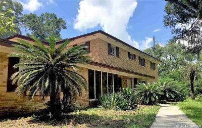 Gainesville Single Family Home For Sale: 762 NW 22ND Street