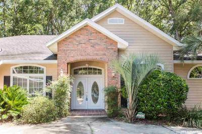 Gainesville Single Family Home For Sale: 8214 SW 16TH Place