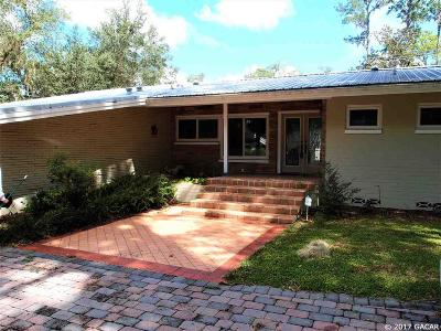 Gainesville Single Family Home For Sale: 2156 NW 4TH Place