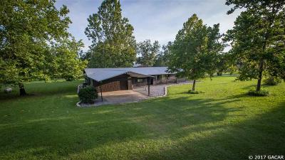 Alachua Single Family Home For Sale: 22905 NW 94TH Avenue