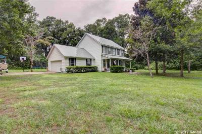 Gainesville Single Family Home For Sale: 6801 MILLHOPPER Road