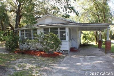 Melrose Single Family Home For Sale: 8366 SR 100
