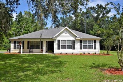 Alachua Single Family Home For Sale: 7702 NW 290th Avenue