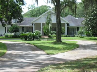 Gainesville Single Family Home For Sale: 6202 SW 91ST Street