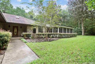 Gainesville Single Family Home For Sale: 6529 NW 90th Street