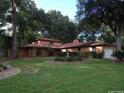 Gainesville Single Family Home For Sale: 8516 SW 20th Lane