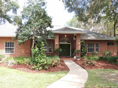Gainesville Single Family Home For Sale: 1619 SW 86 Terrace
