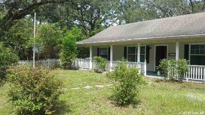 Newberry Single Family Home For Sale: 25820 NW 1ST Avenue