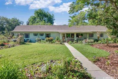 Gainesville Single Family Home For Sale: 9211 NW 12th Place