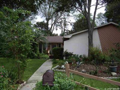 Gainesville Single Family Home For Sale: 517 NW 97 Terrace