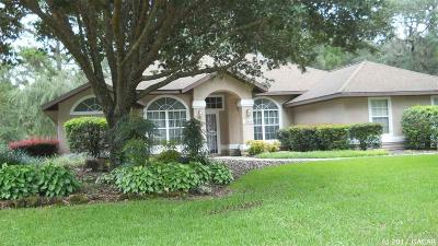 Alachua Single Family Home For Sale: 6814 NW 105 Avenue