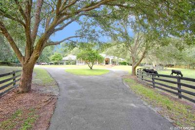 Gainesville Single Family Home For Sale: 14110 NW 21ST Lane