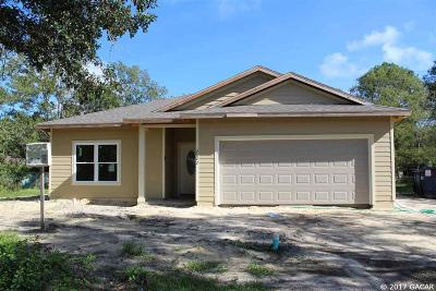Gainesville Single Family Home For Sale: 2822 NW 67 Place