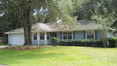 Newberry Single Family Home For Sale: 25321 SW 17 Avenue