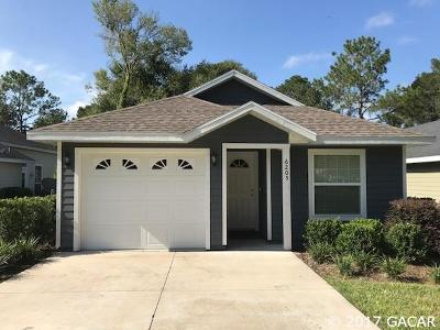 Alachua Single Family Home For Sale: 6205 NW 106TH Place
