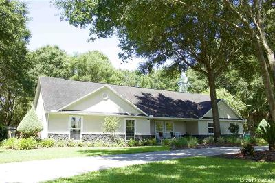 Chiefland Single Family Home For Sale: 11590 NW 68TH Terrace