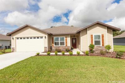Newberry Single Family Home For Sale: 970 NW 232nd Drive