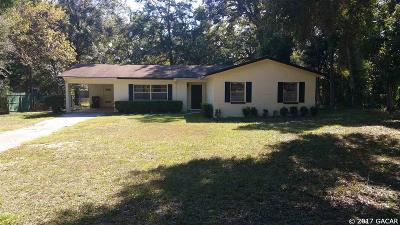 Gainesville Single Family Home For Sale: 1939 SW 44th Ave