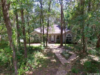 Gainesville Single Family Home For Sale: 3303 SW 1st Way