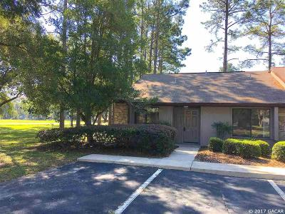 Gainesville FL Condo/Townhouse For Sale: $124,000