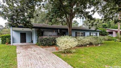 Gainesville FL Single Family Home For Sale: $167,000