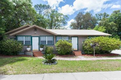 Gainesville FL Multi Family Home For Sale: $298,000