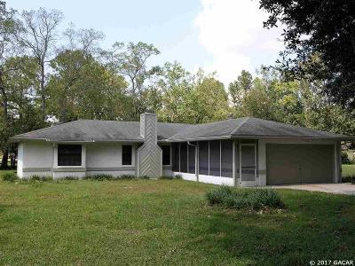 Gainesville FL Single Family Home For Sale: $168,500