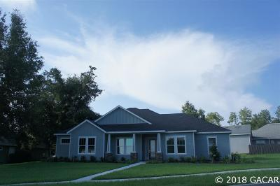 Alachua Single Family Home For Sale: 14955 NW 149TH Road