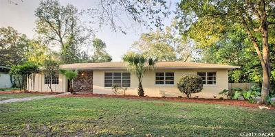 Gainesville FL Single Family Home For Sale: $194,900